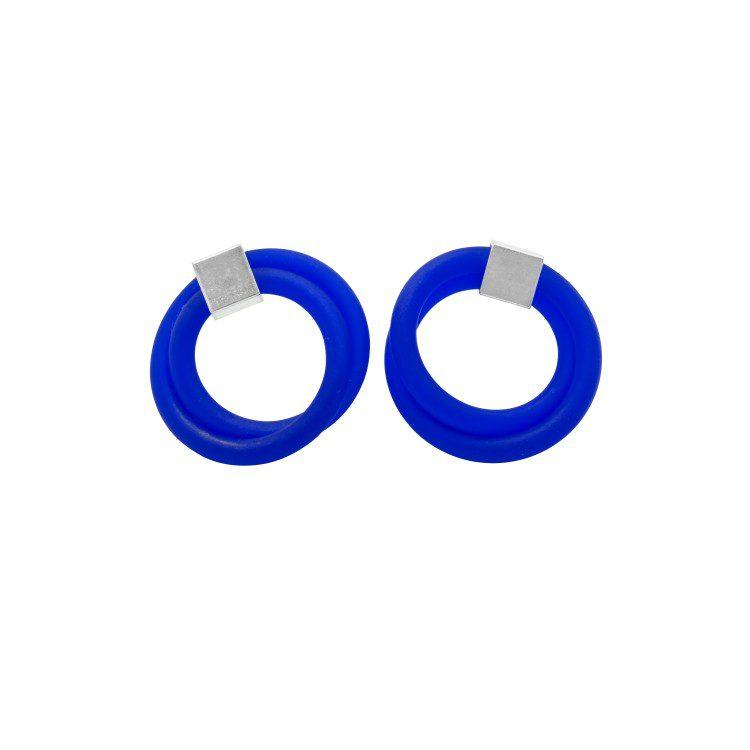 Dainty Double Loop Ear Studs