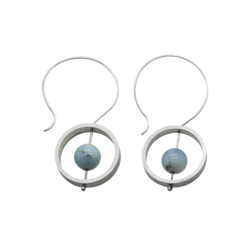 Abacus Dangle Earrings - Circles