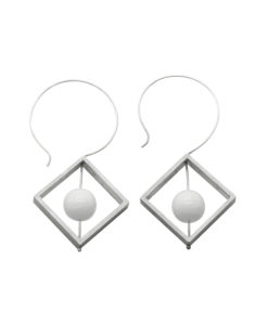 Abacus Dangle Earrings - Square