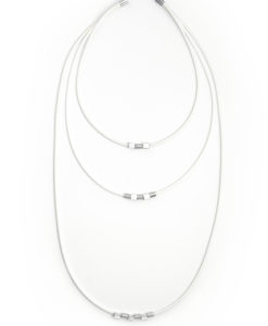 Dainty Stackable Necklace with Removable Charms - available in 3 lenghts