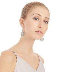 Mesh Cone Dangle Earrings