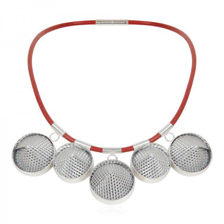 Mesh Cone Necklace