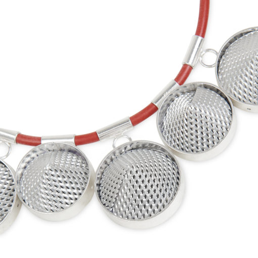 Mesh Cone Necklace