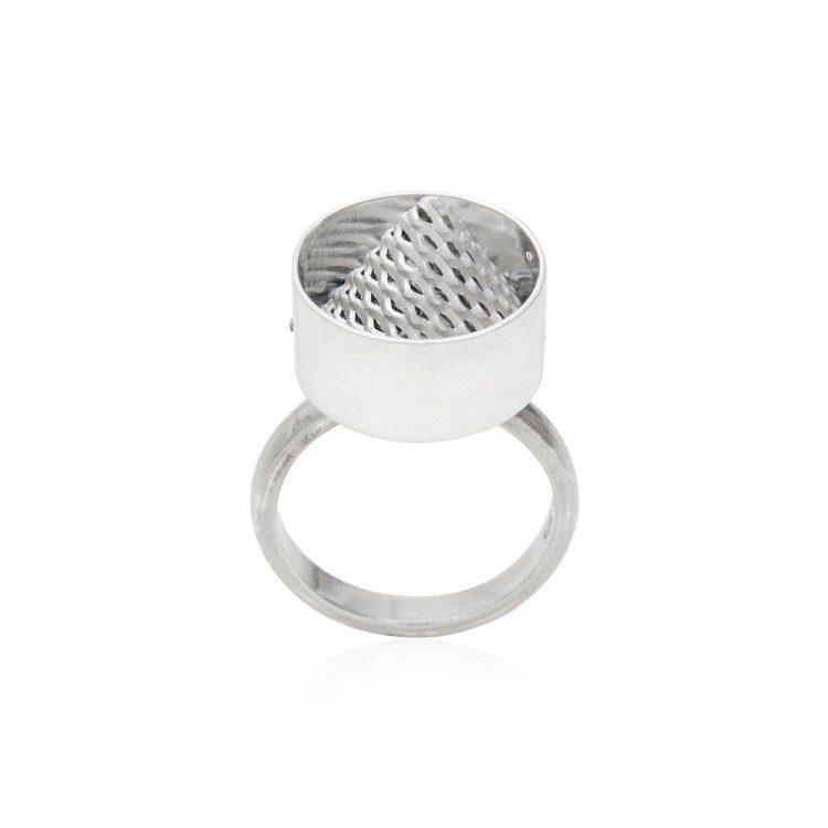 Mesh Cone Ring