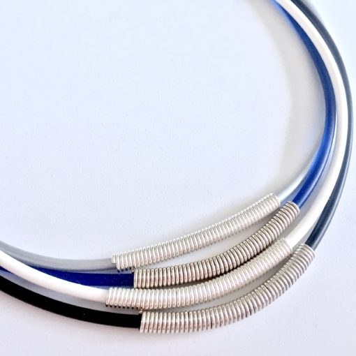 Dainty Stackable Coil Necklaces