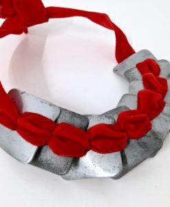 Modernist Adjustable Square Necklace