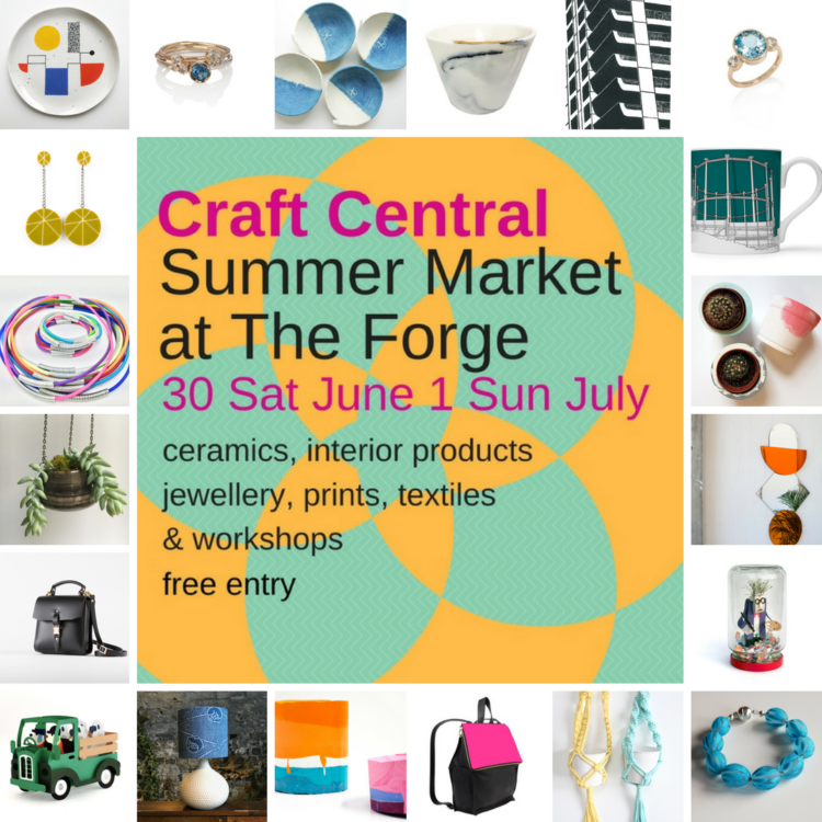 Essemgé at Craft Central Summer Market at The Forge - 30June & 1July 2018