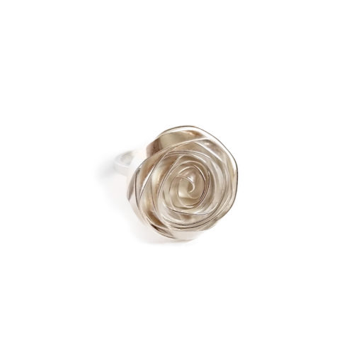 Cocktail Romantic Rose Ring