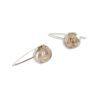 Romantic Rose Earrings - Dangles - sterling silver