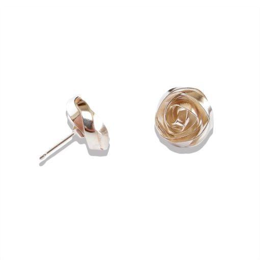 Romantic Rose Earrings Ear Studs