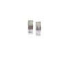 Striped Ribbed Stud Earrings - Mini