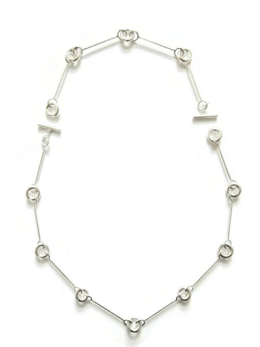 Cruise Multi Combination Transformable Necklace - all silver
