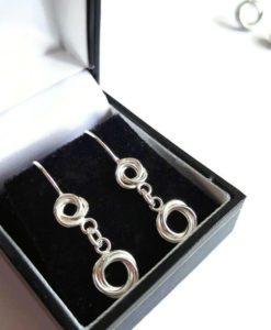 Russian Ring Dangle Earrings
