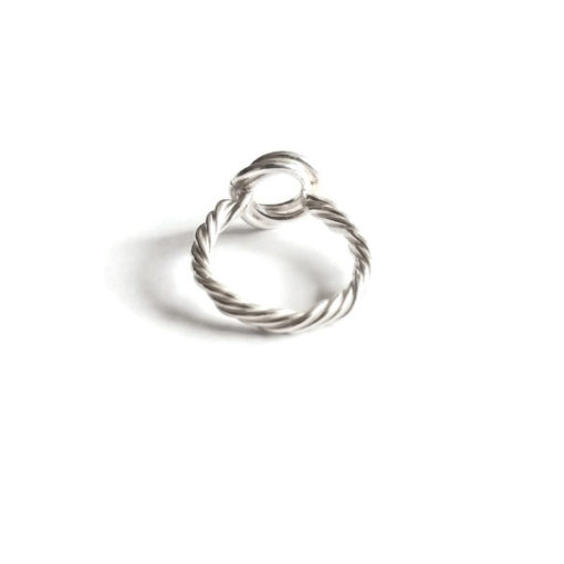 3-Circle Ring with Rope Shank